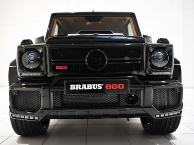 Brabus Front Spoiler for G63 / G65 for the Mercedes Benz G-Class W463 - Dark LED-0