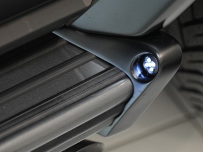 Brabus Illuminated Running Board Caps for the Mercedes Benz G-Class W463-0