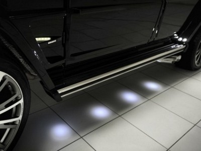 Brabus LED Underbody Lightning Kit for the Mercedes Benz G-Class W463-0