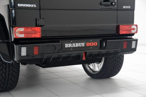 Brabus Underride Protection Element for the Mercedes Benz G-Class W463-0