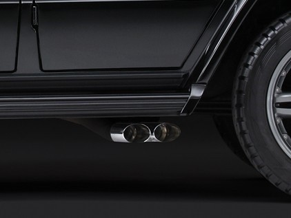 Brabus Sports Exhaust System (Stainless Steel) for the Mercedes Benz G-Class Short Wheel Base G320, G400 CDI, and G500-0