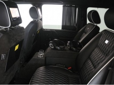 Brabus Rear Curtains for the Mercedes Benz G-Class W463-0