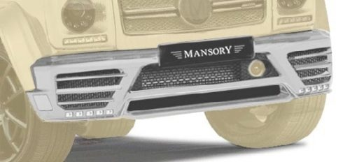MANSORY Front Bumper I. with LED DRL - Primed-0