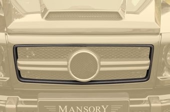 MANSORY Frame for Grill Mask Cover I / II-0