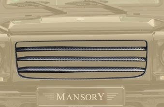 "MANSORY Grill Mask Cover IV ""Stripes""-0"
