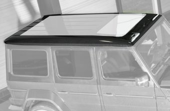 MANSORY Roof Cover with Position Lights-0