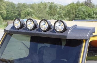 MANSORY Roof Panel with 4 Position Lights-0