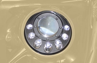 MANSORY Xenon Headlights with LED Design - Chrome Inlay-0