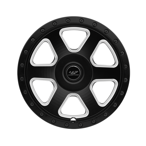 "463 Industries GC03 Black Machine Finish - 22"" for G-Wagon-0"