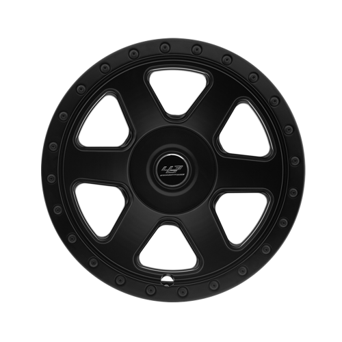 "463 Industries GC03 Black Finish - 22"" for G-Wagon -0"