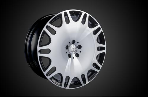 """21"""" BRABUS Monoblock M """"Platinum Edition"""" Surface Design - Forged - Black Glossy Fully Polished / Optionally Ceramic Polished-0"""