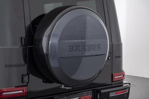 BRABUS Carbon Fiber Spare Tire Carrier Cover -0