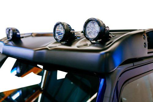 "LETECH LED AUXILIARY LAMPS 4.7"" SINGLE LED SPOT W463A-0"