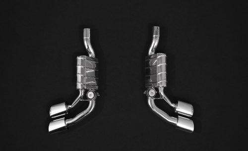 Capristo Exhaust Mercedes G63AMG 4.0L V8 BiTurbo (W 463A, 2019-) – Valved Mufflers with CES-3 with ECE-0